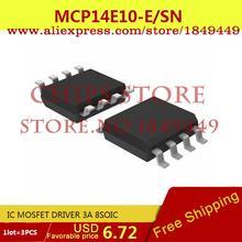 Electronic Components MCP14E10-E/SN IC MOSFET DRIVER 3A 8SOIC MCP14E10-E 14E10 MCP14E10 - Chips Store store
