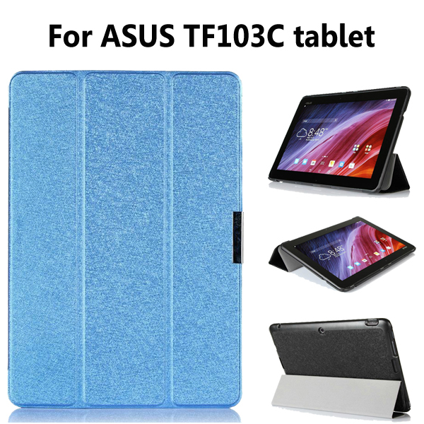 For asus transformer pad TF103c TF103cg tablet case funda 10.1 inch tablet smart leather protective cover case+stylus pen(China (Mainland))
