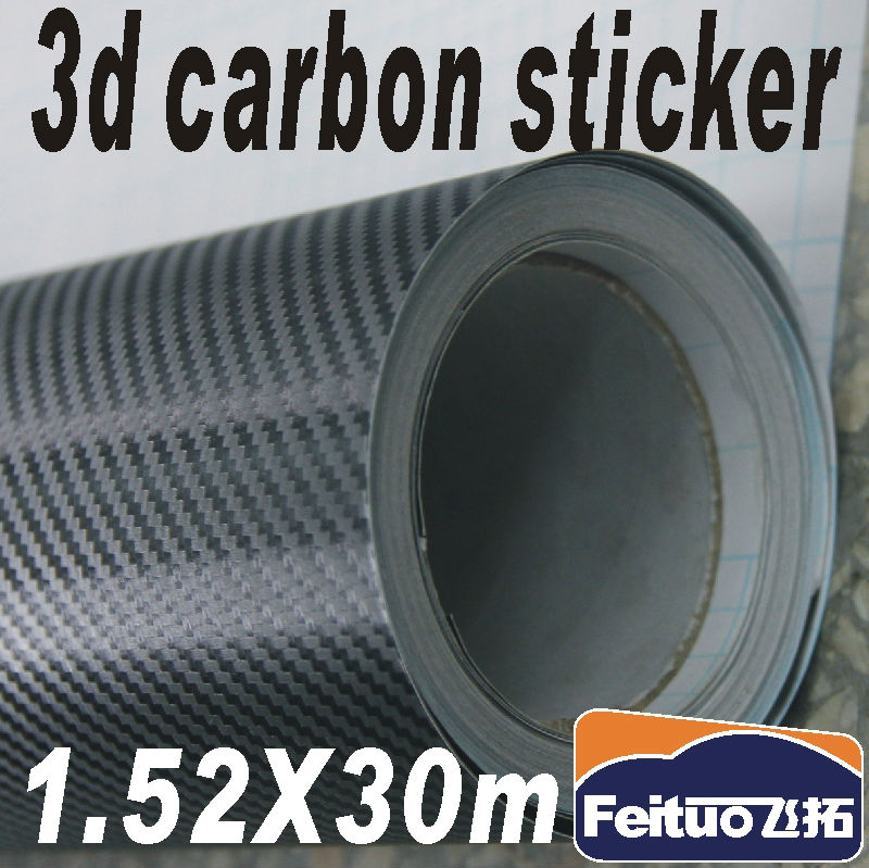 Guarantee 100%  carbon fiber  vinyl wholesale 1.52m  3d film for car ( with air free bubbles )<br><br>Aliexpress