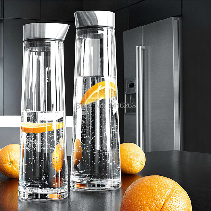Cooling Glass Brands Cool Water Pot Glass Bottle