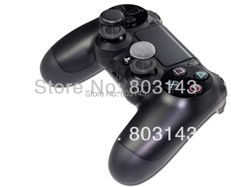 2 Rubber TPU Thumbstick Thumb Sticker Cover Case Skin Joystick Grips Sony PlayStation 4 PS3 XBOX360 - TOPWin video game repair store