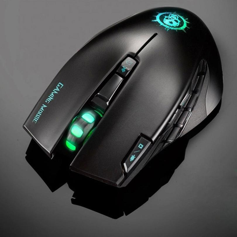 New Arrival 2400DPI C20 High End 2.4GHz 8 Buttons Multimedia Wireless Mouse computer mouse Gaming Mouse Malloom(China (Mainland))