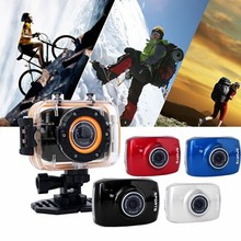 1 Set High-resolution 2.0 Inch Mini Camera Touch Screen Waterproof With Case  New Camcorder Digital Camera 2015 Free Shipping