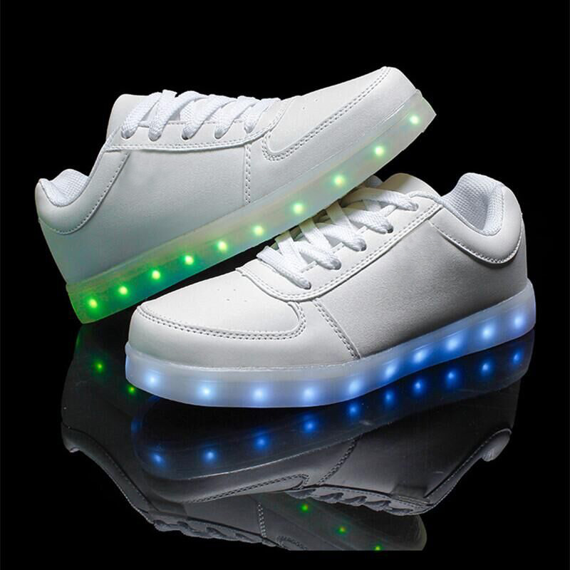 2016 led shoes for adults fashion light up casual