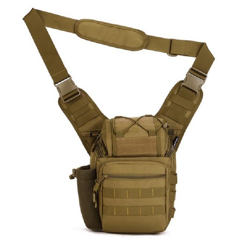 Saddle Bag Upgraded Camera Bag Messenger Bags Nylon Durable Military Shoulder Bag Army Gear(China (Mainland))