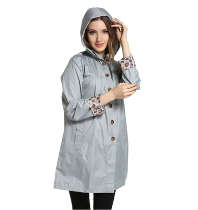 British Fashion Womens Portable Trench Raincoat Outdoor Jacket font b burberry b font women s Waterproof