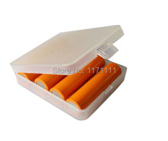 2 Pieces Hard Plastic Case Holder Battery Storage Box 1-18650 - we do best store