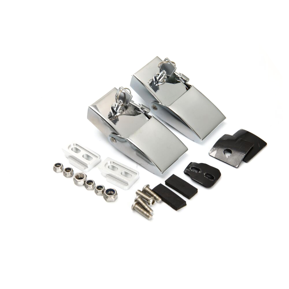 2pcs/set Silver Zinc Alloy Vehicle Cover Lock Trim for Jeep Wrangler 2007-2015 Car Accessories<br><br>Aliexpress