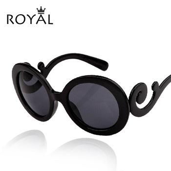Okulary przeciwsłoneczne damskie nietypowe okrągłe różne kolory