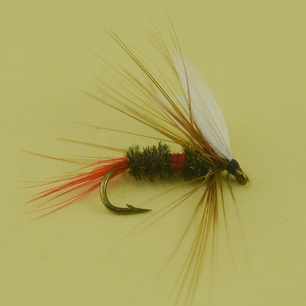 Wholesale Fly Fishing Flies: 6PCS 10# Royal Wulff Dry Flies For Trout Fishing Flies