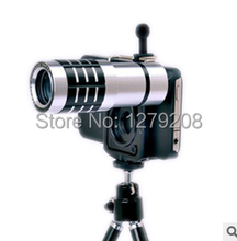 free shipping 12 times phone monocular telescope
