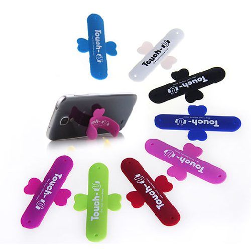 10PCS Mobile Phone Smartphone Touch U Type Silicone Stand Holder for iPhone for Samsung #61344