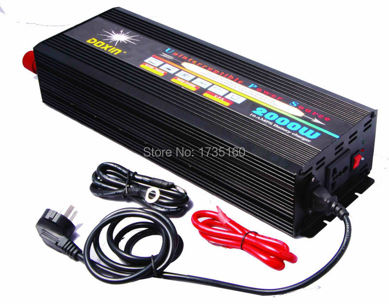 2000W Inverter with charger function Modified Sine Wave Inverter 4000W Peak Power CE,ROHS(China (Mainland))