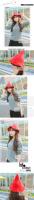 Новый Запад небольшой осенний и новые законодателем улица изысканной моды вязание шерстяная шапочка
