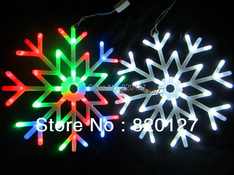 Snowflakes led string light lights total indoor outdoor