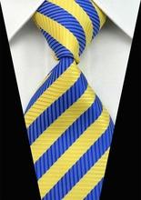SNT0105 Hot Sale 2014 Fashion Man Blue Ties Necktie Set Cufflink Hanky Checked Striped Casual Neckties