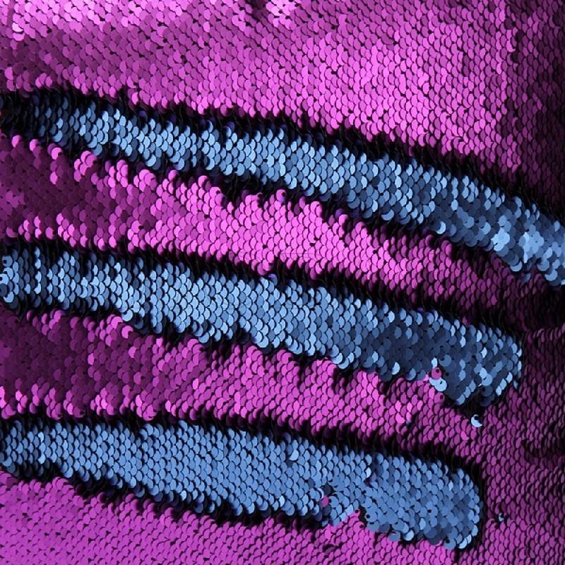 Reversible Sequin Mermaid Pillow Magical Color