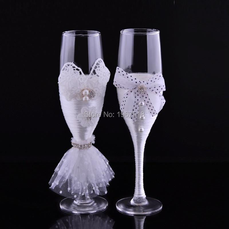 Popular decorative champagne glasses buy cheap decorative for Decorative wine glasses cheap