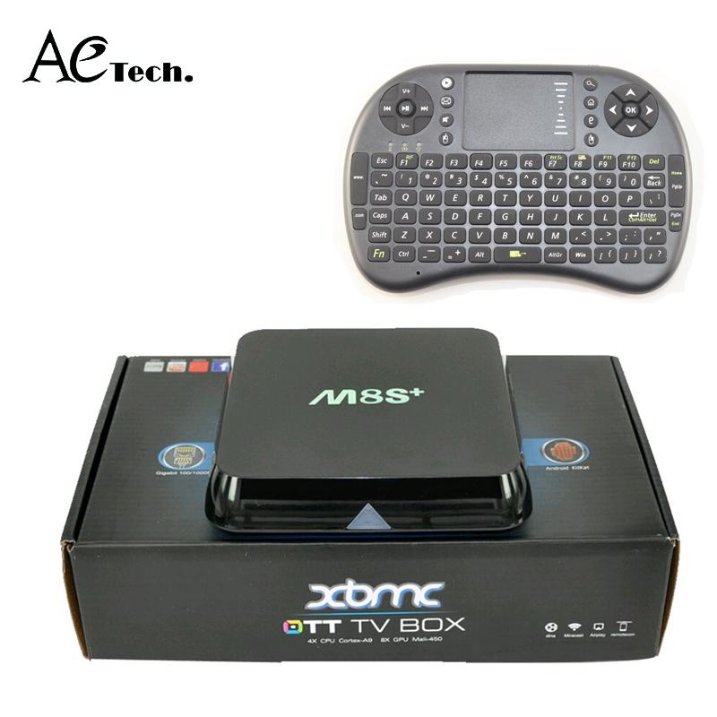 i8 Air mouse+M8S Plus/M8s+ Android 5.1 Amlogic S812 Quad Core Smart TV Box XBMC KODI 2G/8G 2.4G/5G WiFi H.265 DLNA Miracast<br><br>Aliexpress