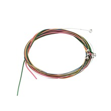 Newest Multi Color 1-6 E B G D A E Rainbow Colorful Strings Set for Acoustic Guitar Hot Selling!!(China (Mainland))