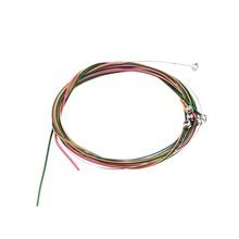 Новые многоцветный 1 - 6 E bg dadd E радуга красочные строки комплект для акустической гитары горячая распродажа(China (Mainland))