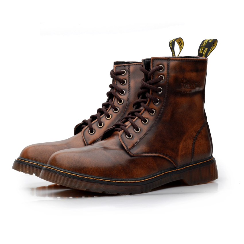 Men Leather Boots - Yu Boots