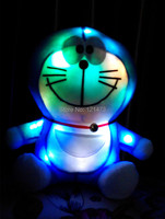 2015 New Baby Cat Toy Doll 20cm Flashing Toys Glow In The Dark Plush Toys Viking Plush Toys High Quality PP Cotto