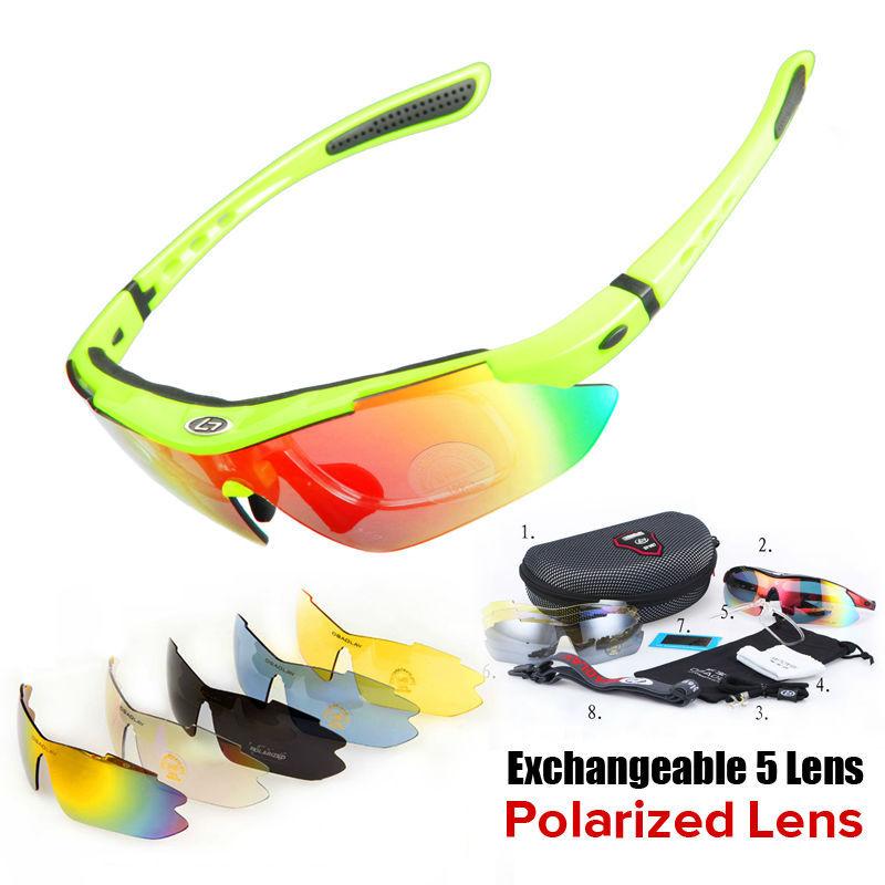 Professionelle polarisierte radsport sonnenbrille