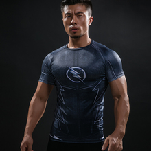 Buy ZOOM 3D Printed T-shirts Men Compression Shirt Raglan Short Sleeve Flash Cosplay Costume Quick Dry Crossfit Clothing Tops Male for $5.91 in AliExpress store