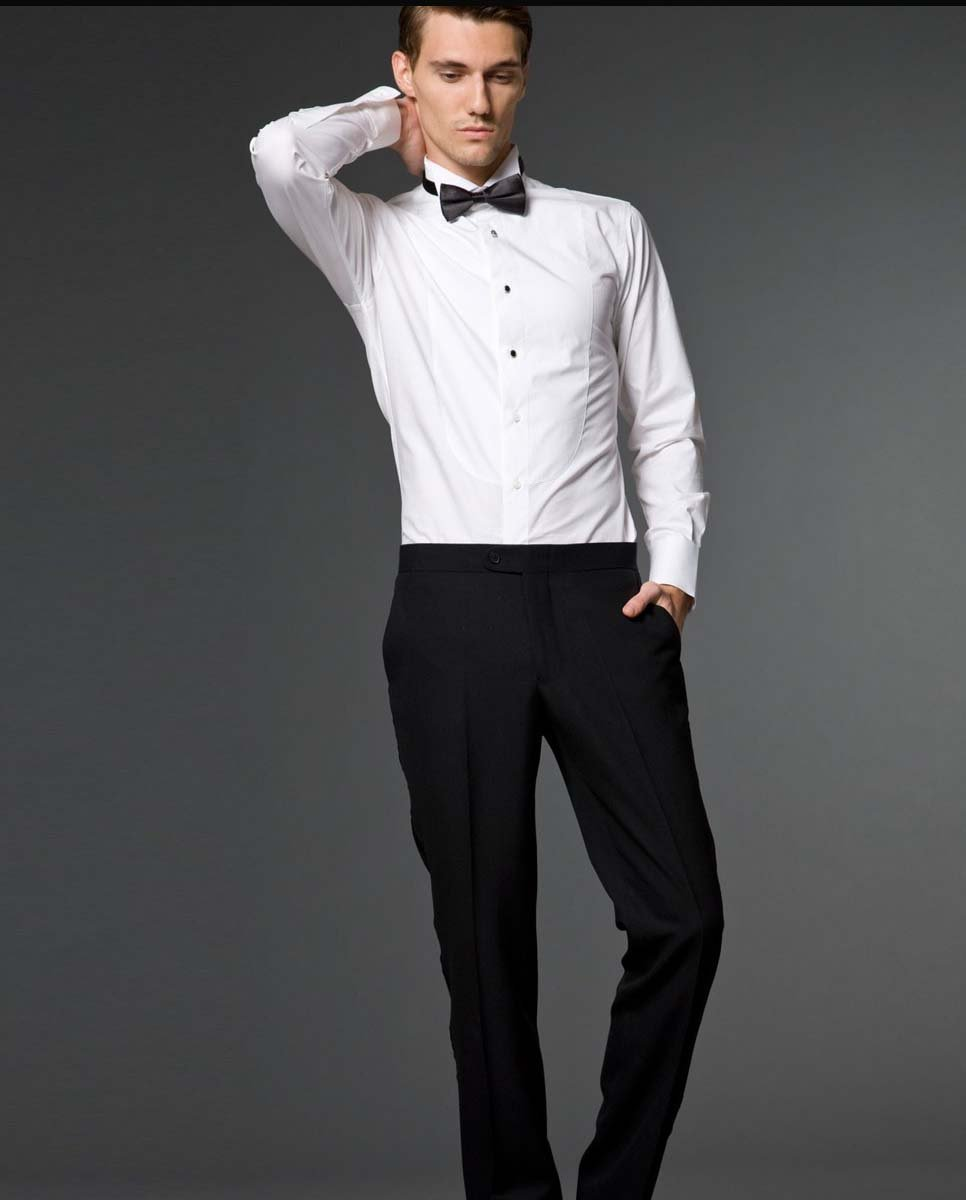 Wholesale free shipping 100 cotton wedding dress shirt 100 cotton tuxedo shirt
