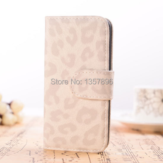 Fashion leopard spotted Flip PU Leather Case iphone 6 Stand Holder Function Cover Carcasa Capa Funda Shell plus - MagicBuying store