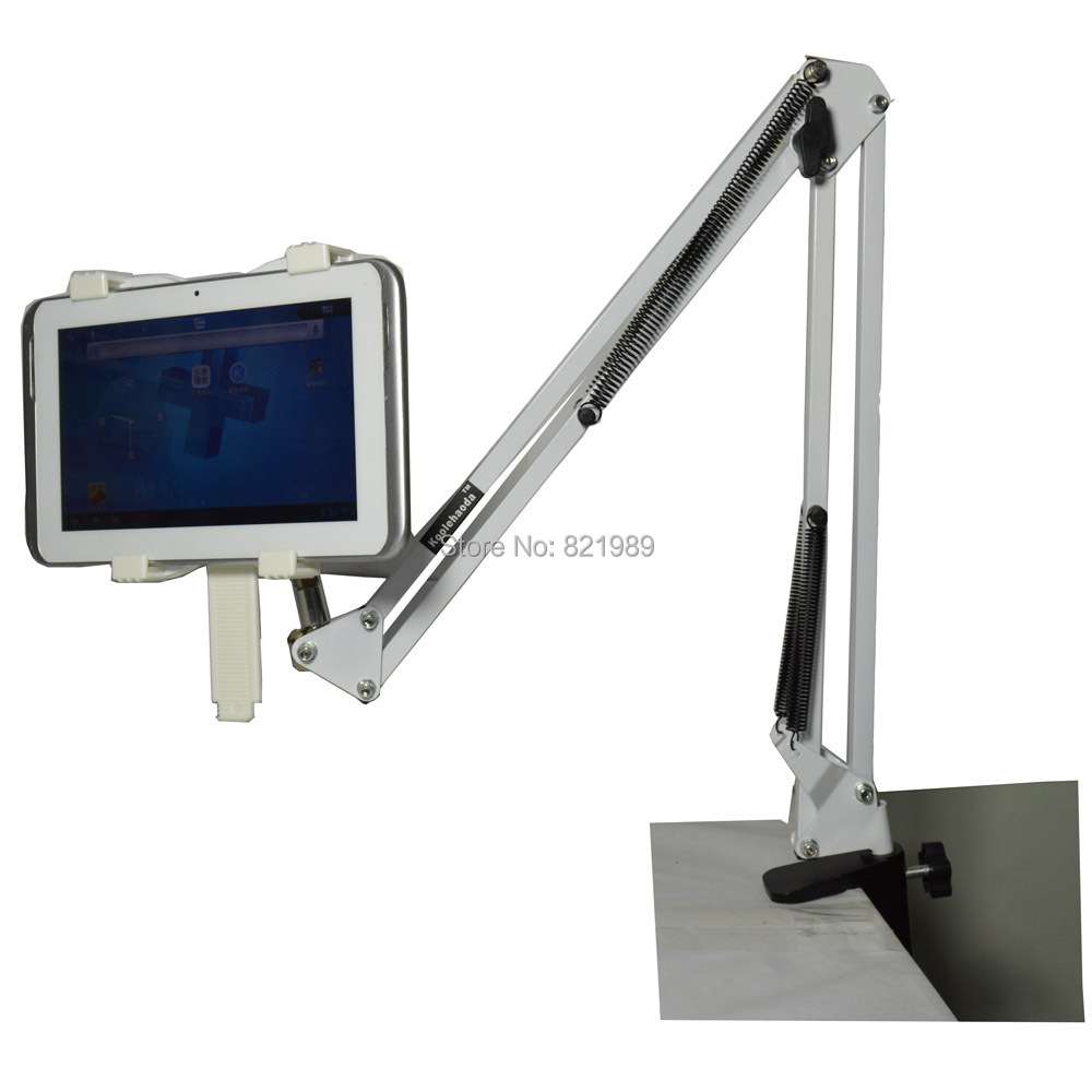 Swing Arm Stand : Details about adjustable swing arm tablet stand for desk