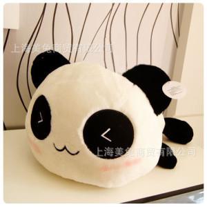 40cm Giant Panda Pillow Mini Plush Toys Stuffed Animal Toy Doll Pillow Plush Bolster Pillow Doll Valentine's Day Gift Kids Gift(China (Mainland))