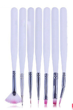 Hot Marketing Nail Art 7PCS Design Painting Dotting Pens Brushes Tools Kits Sets Manicure Tool Hot Beauty Salon May7(China (Mainland))