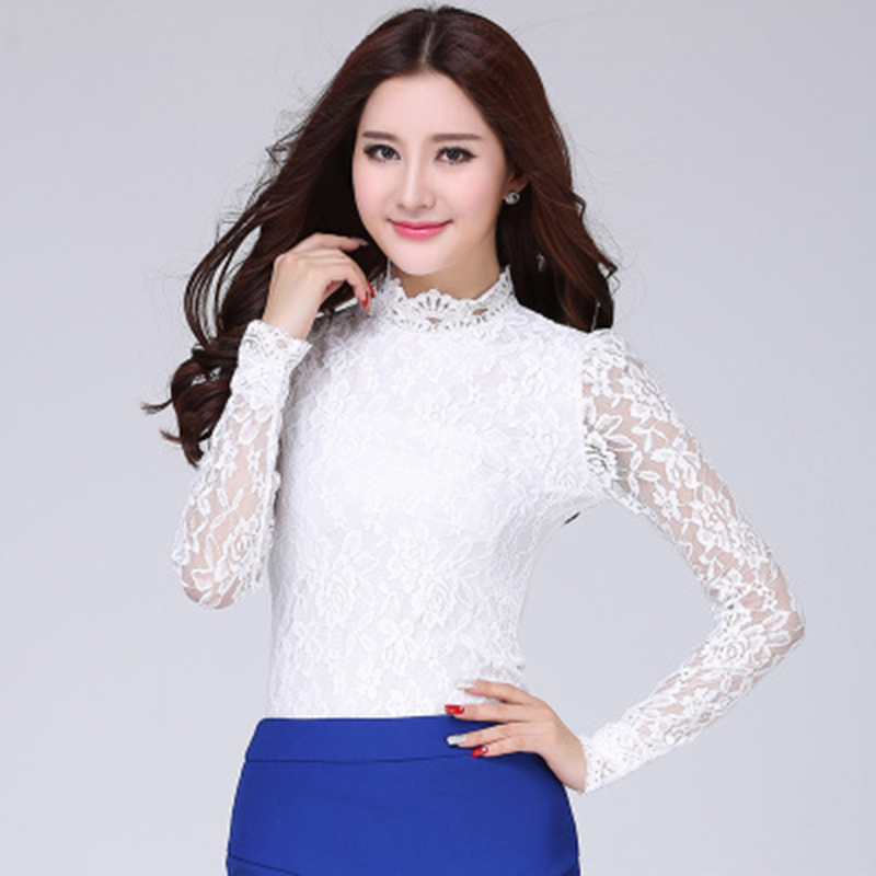 White Fitted Blouse Promotion-Shop for Promotional White Fitted ...