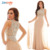Real Photo Long Evening Dress Gown Illusion See Through Back Crystal Beaded Jersey Prom Dresses Chiffon train Nude Red Black