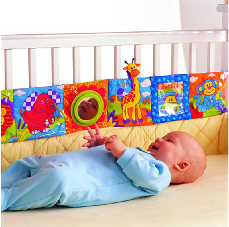 Гаджет  Retail Baby Toys Baby cloth book knowledge around multi-touch multifunction fun and colorful Bed Bumper None Игрушки и Хобби