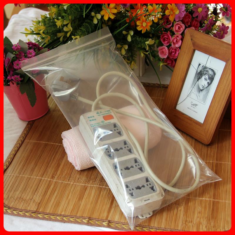 Common PE ziplock 20 * 40 * 16 ziplock pouch thick wire toy bag 10 Price(China (Mainland))