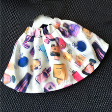 wholesale(5pcs/lot)-2016 all match printed skirt for 2-7 years child girl(China (Mainland))