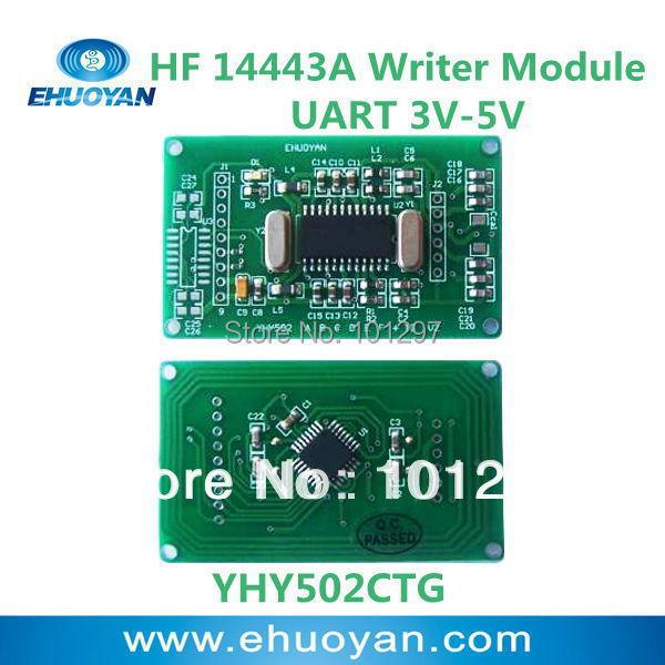 Гаджет  RFID Reader Writer   Module 13.56Mhz UART 3V-5V YHY502CTG +SDK None Безопасность и защита