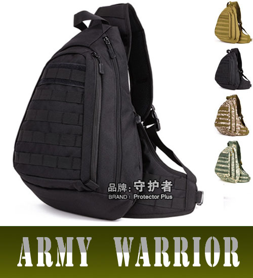 Outdoor Large Chest Pack MOLLE Military Tactical A4 Crossbody Bag Man Casual Travel Sport Shoulder Bags Hunting Cycling Knapsack(China (Mainland))