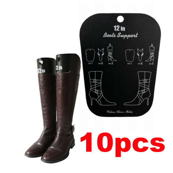 10 pcs/lot Inflatable Useful Long Boot Shoe Trees Stand Holder Stretcher Support Shaper Plastic HB88(China (Mainland))