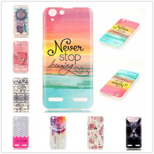 Buy Luxury Soft TPU Cute Painted Cell Phone Cover Case Lenovo Vibe K5 Case Silicone Back Cover Lenovo Vibe K 5 for $1.29 in AliExpress store