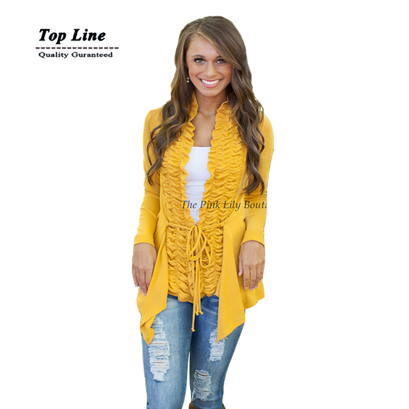 2015 New Brand Women solid Cardigan Jacket Long Sleeve Draped Front Knitted Sweater Thin Jumper Loose Style Autumn Long Top(China (Mainland))