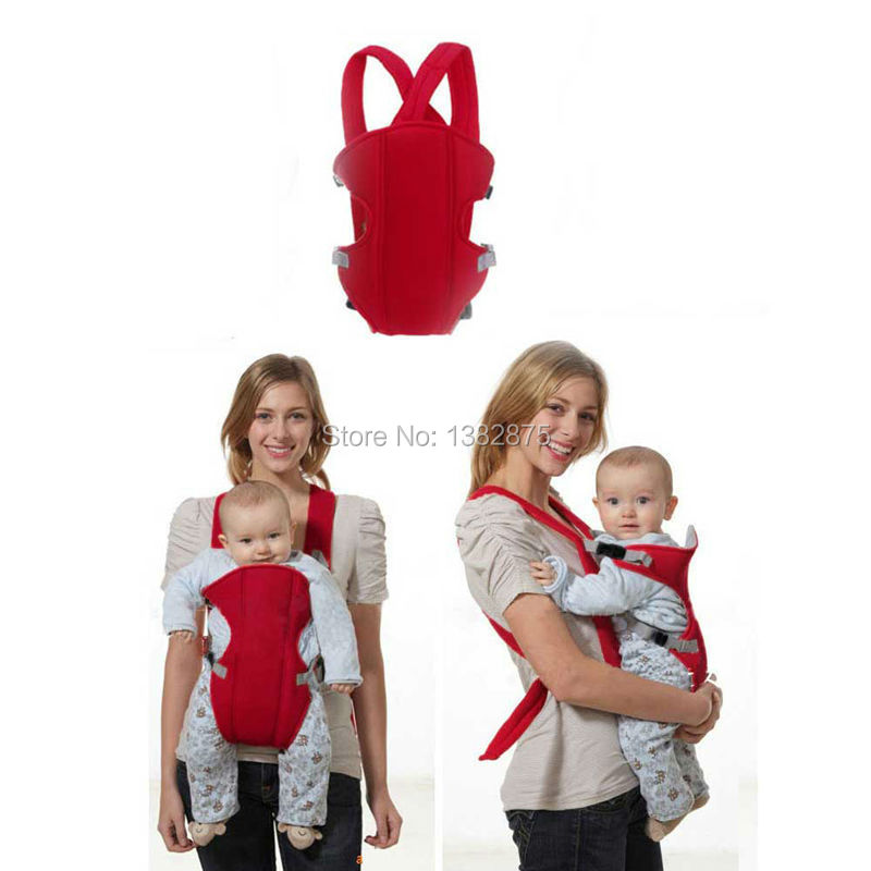 Vogue Breathable 3D Mesh Baby Wrap Carrier Baby Sling for Infant Babies Red E#TN(China (Mainland))