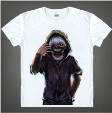 Free Shipping New Animation T Shirt Anime Novelty Summer woman man T-shirt Tokyo Ghoul t Shirt Cosplay Costume 05