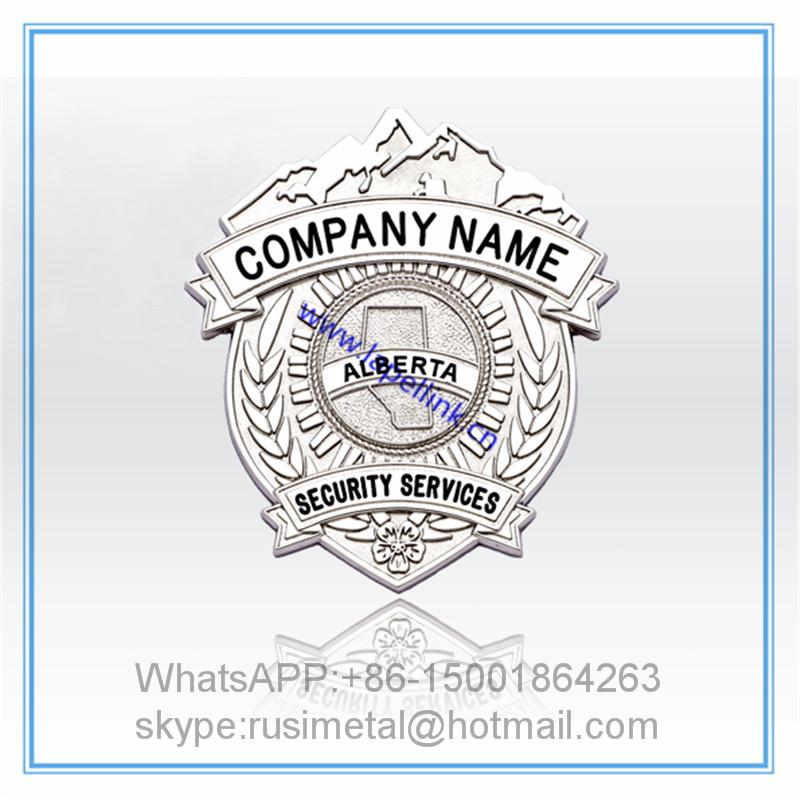 Security badges customized badges customized shopping mall security, security service badge(China (Mainland))