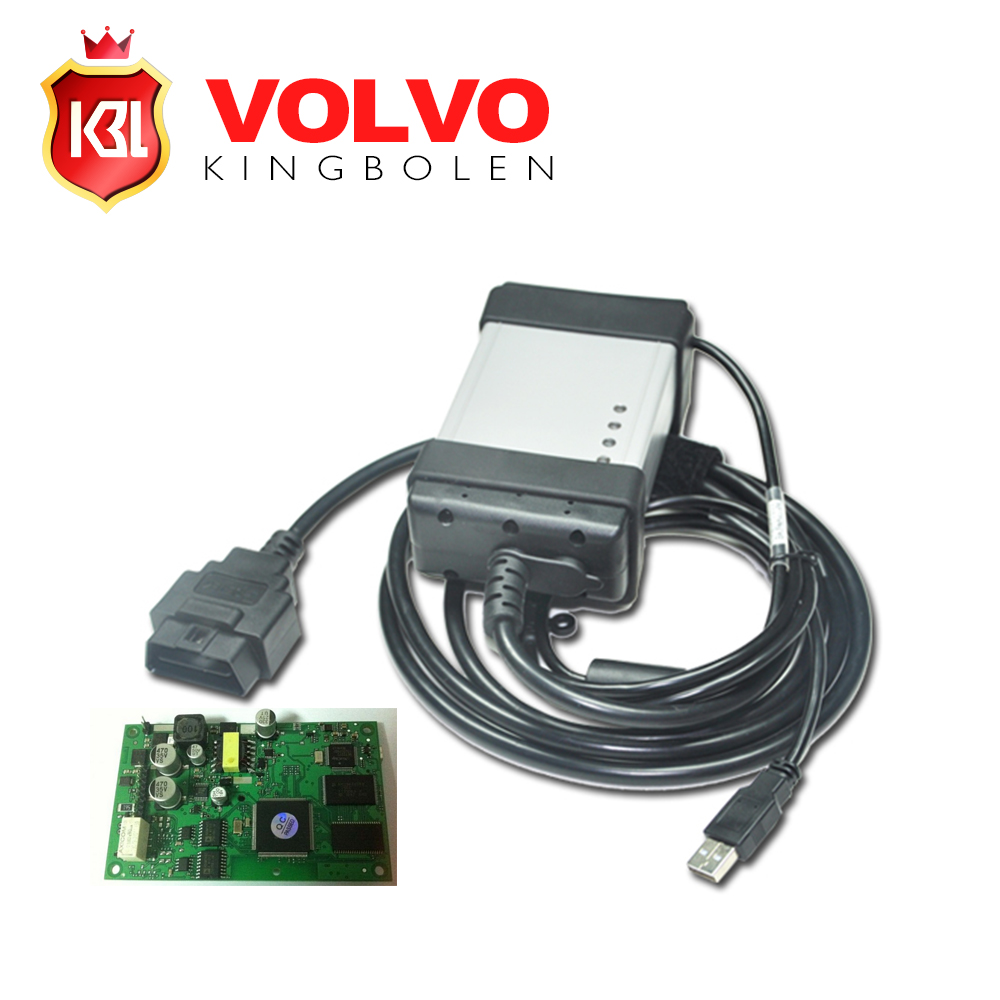 2015 Newest Version 2014D Volvo Vida Dice Professional Universal Diagnostic Tool Volvo Dice With Green Board Free Shipping(China (Mainland))