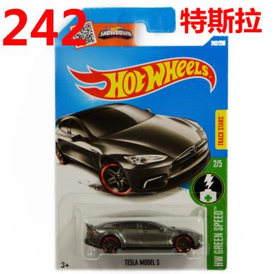 Free Shipping 2016 New Hot Wheels dark gray tesla model s car Models Metal Diecast Car Collection Kids Toys Vehicle Juguetes(China (Mainland))