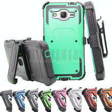 For Samsung Galaxy Grand Prime G530 G530H G530FZ G5308W G5308 Anti-shock Armor Hybrid Hard Case Cover+Holster With Belt Clip(China (Mainland))